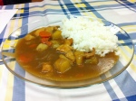 Karee Raisu (arroz al curry)