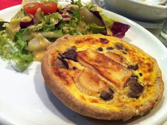 Quiche me cocina francesa brie setas obento time for Postres cocina francesa
