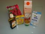 Postres Obento Times - Panna Cotta de Té Verde - Ingredientes