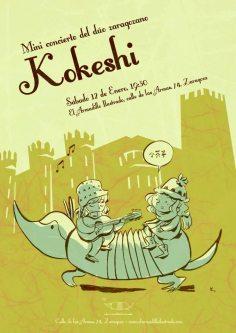Concierto Kokeshi, ganadoras del gran premio de música de la televisión internacional japonesa